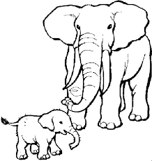 Small Picture Elephant Coloring Pages To Print Coloring Home