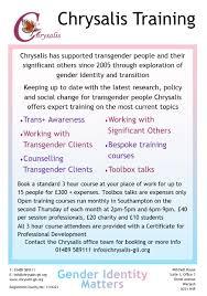 Training Chrysalis