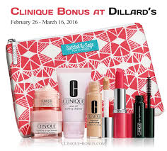 spring clinique bonus dillards 2016