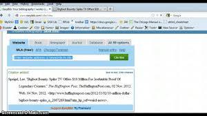 using easybib com to cite a website article using easybib com to cite a website article