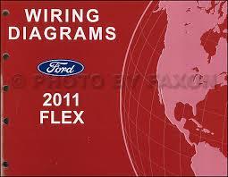 2011 ford flex wiring diagram manual original