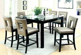 round counter height dining table set black counter height dining set home furnishings counter height dining