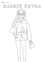 Print barbie coloring pages for free and color our barbie coloring! Barbie Coloring Pages 105 Images Free Printable