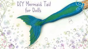 Mermaid Tail Pattern Unique DIY Doll Mermaid Tail YouTube