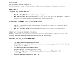 College Grad Resume Template Junior Project Manager Resume
