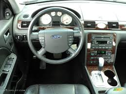 2006 Ford Five Hundred Limited AWD Black Dashboard Photo #50948184 ...