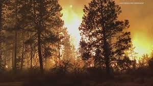 Bootleg Fire in southern Oregon ...