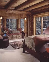 gorgeous log home bedroom at the lodge pinterest logs