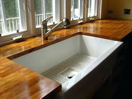 do up your kitchen with well designed butcher block from oak countertops white