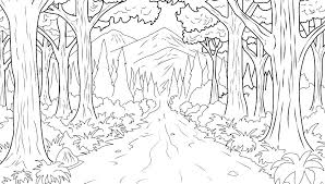 logging coloring pages rainforest coloring pages trees logging coloring page rainforest
