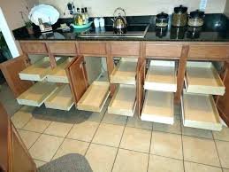 kitchen cabinet rolling shelves gorgeous roll out shelf best kitchen cabinet slide outs shelves that slide