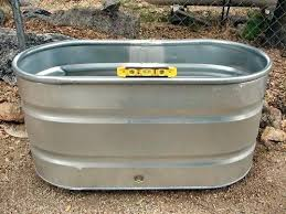 galvanized watering trough galvanized livestock water troughs compost bins or raised bed gardens raised bed vegetable
