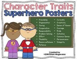 Characteristics Of A Superhero 37 Best Super Hero Theme Images On Pinterest Classroom Ideas