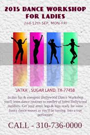 Dance Workshop Flyer Poster Template Postermywall