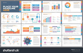 Presentation Charts And Graphs Free Presentation Template Design Business Data Graphs Vector