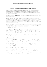 Best Photos Of Project Executive Summary Template Project