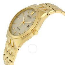 citizen corso eco drive champagne dial gold tone stainless steel citizen corso eco drive champagne dial gold tone stainless steel men s watch bm7332