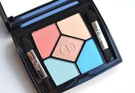 dior milky dots 5 couleurs polka dots eyeshadow palette 366 bain de mer