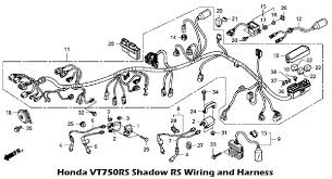 honda shadow wiring diagram honda image wiring diagram 2010 honda vt750rs shadow rs wiring and harness on honda shadow wiring diagram