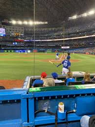 Rogers Centre Section 124r Home Of Toronto Blue Jays