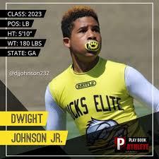 2023 Dwight Johnson Jr - Playbook Athlete