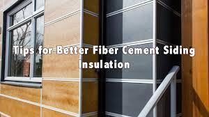 fiber cement siding insulation