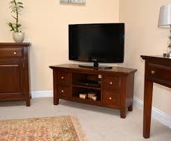 mahogany tv stands lock stock