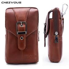 fit to viewer prev next chezvous genuine leather cell phone pouch