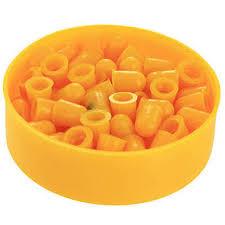 <b>Villa Пульки</b> пластиковые калибр <b>7</b> мм V05030, цвет оранжевый ...