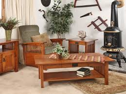 Mission Style Living Room Chair Decor Gorgeous And Elegant Amish Furniture San Antonio For Home