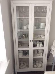 ikea hemnes cabinet glass door trekkerboy