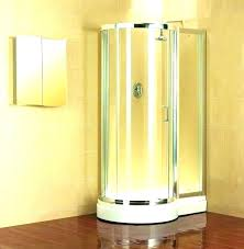 smallest shower stall small shower doors