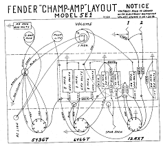 Fender ch 5e1 layout diagram