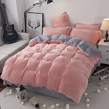 modern style soft fay velvet duvet cover set bed sheet pillowcase king size super soft bedding sets jaju037 king size duvet cover white duvet cover queen