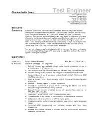 Sample Resume For Experienced Test Engineer Sample Resume Vendor Development Engineer New Download Environmental 3