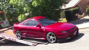 Attempting to unload 1990 st184 Toyota Celica - YouTube