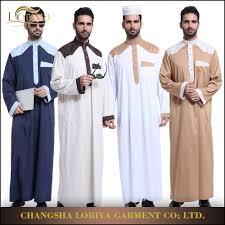 Dubai Jubah Design Handsome Men Wear Islamic Kaftan Thobe Jubah Dubai Abaya