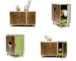 modern design cat furniture. Modern Cat Tower Mid Century Furniture From Modernist Contoure Tree . Design T