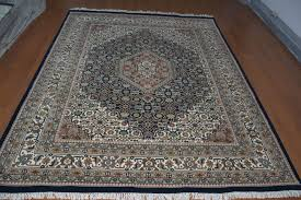 details about indian 10 10 hand knotted persian bidzar wool oriental carpet area rug teppich