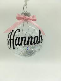 Personalisierte Christbaumkugel Weihnachtsschmuck