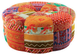 ronna griest ottoman 7038 massoud furniture 7 colorful pieces for a bright new year boho chic furniture