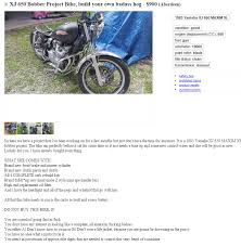 this is how you write a craigslist ad to sell your bike motorcycles