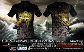 Odyssey Design Odyssey Sublimation Design 21 Bass Shirt