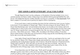 literature essay paper sample literature papers literary analysis sample paper