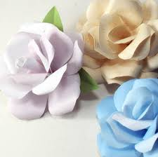 Paper Flower Print Out Printable Paper Rose Download Them Or Print