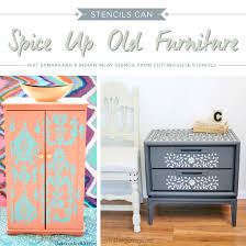 diy painting furniture ideas. Cutting Edge Stencils Shares How To Spice Up Old Furniture Using Paint And Stencils. Http Diy Painting Ideas F