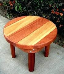 small wooden side table round small wood side table small wooden outdoor side table furniture village