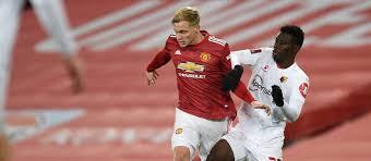 Man utd 1 west ham 1. Donny Van De Beek Starts Amad Diallo On Bench Predicted Xi Vs West Ham