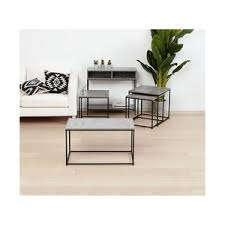 cement furniture. Metal And Cement Look Furniture Side Table