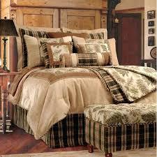 cabin style bedding sets home taupe woodland comforter set cabin themed comforter sets